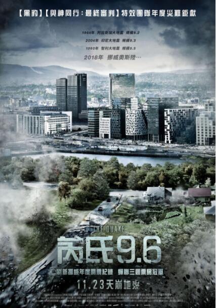 2018歐美科幻《大地震/八級大地震:命懸一劫》震撼特效災難大片