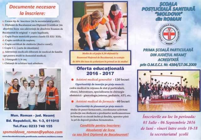 SPS Moldova Roman - oferta educationala 01