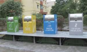 Proiect pilot de colectare selectivă a deşeurilor, la Cluj