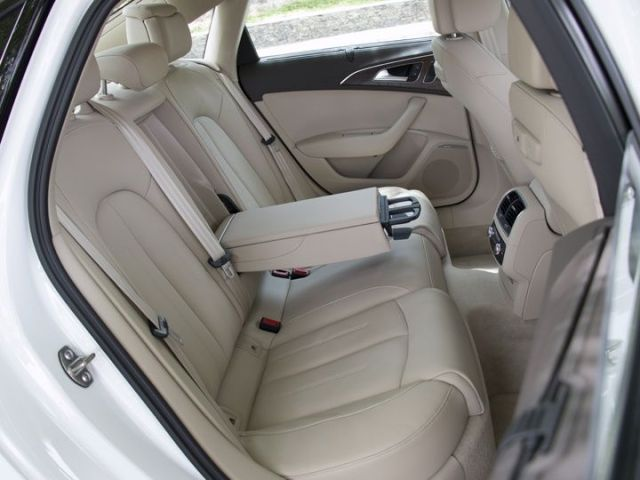 Audi A6 India review rear seat