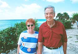 Zig Ziglar and wife Jean in Cancun