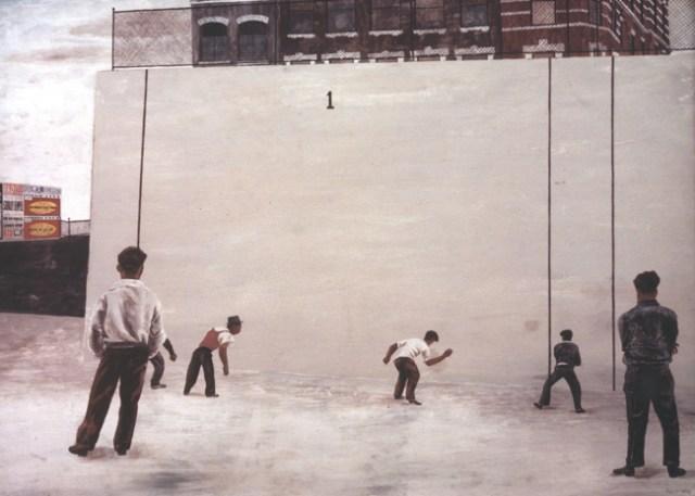 Ben Shahn, Handball, 1939