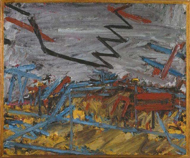Frank Auerbach - Primrose Hill