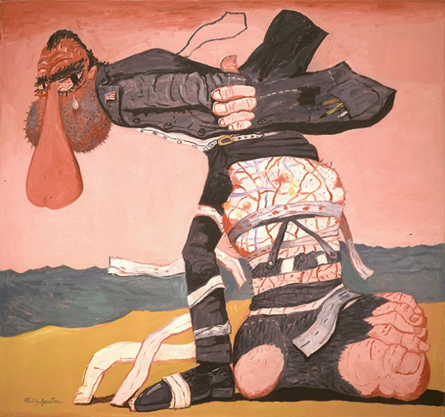 "Philip Guston, ""San Clemente"" 1975, Oil on canvas, 68 x 73 1/4 inches"