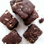 Vegan Coconut And Brazil Nut Brownie