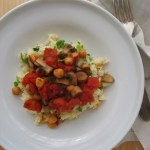 Moroccan Mushroom with Couscous