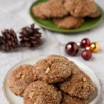 Vegan Spicy Ginger Cookies