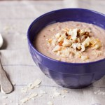 Superfood Breakfast: Vegan Sugar-Free Almond Cashew Walnut Coconut Porridge