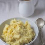 Caramelized Onion Mashed Potatoes With Vegan Gravy