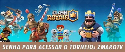 Senha para participar do Torneio de Clash Royale