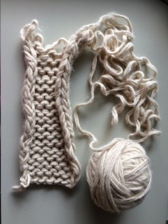 Re-knitting: When an old project doesn't