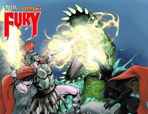 Miss Fury Digital #3