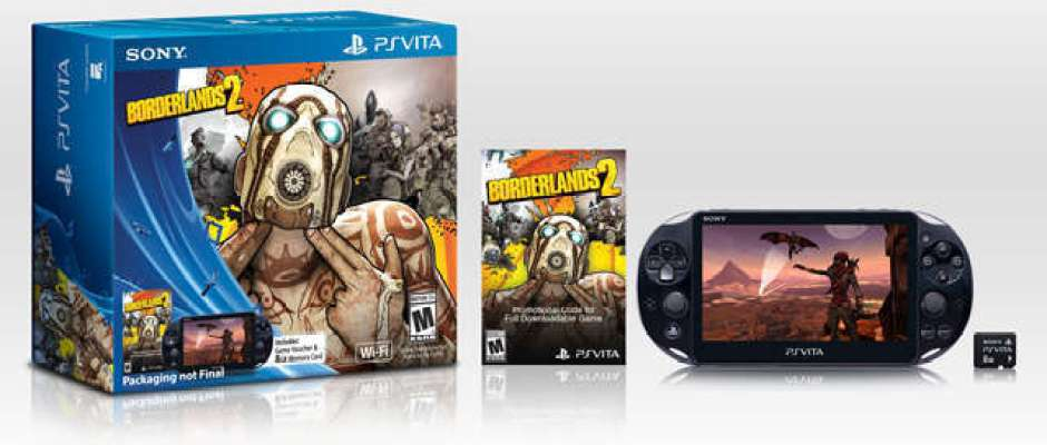 PS Vita Slim Borderlands 2 Bundle
