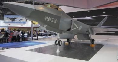 Posible prototipo del FC-31 de quinta generación