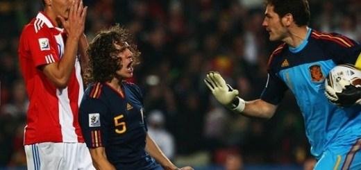 Iker Casillas ataja el penal
