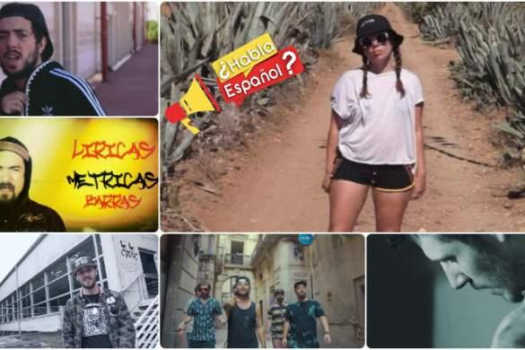 Nova lista de clipes de rap em espanhol, só lançamentos