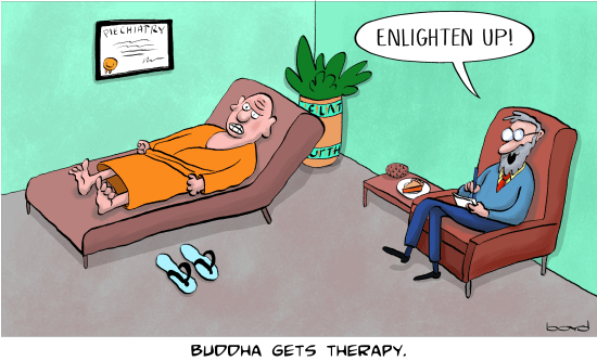 Buddha gets Therapy
