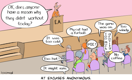 Excuses Anonymous