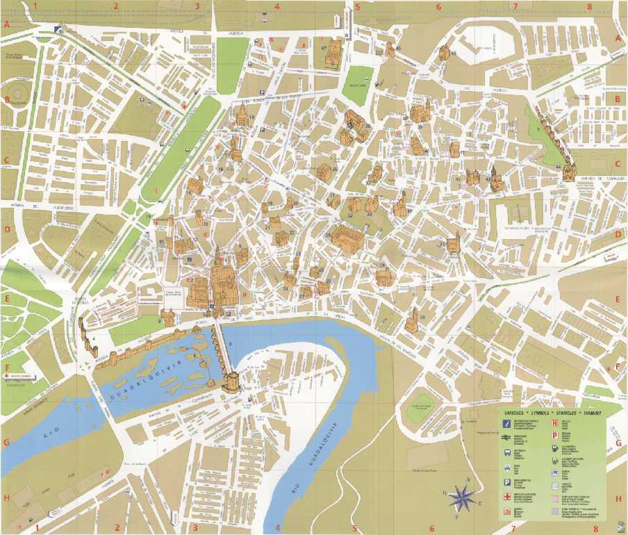map spain cordoba