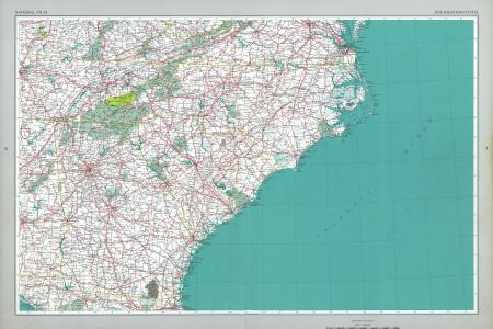 Map Of South Eastern United States - Map of southeastern states