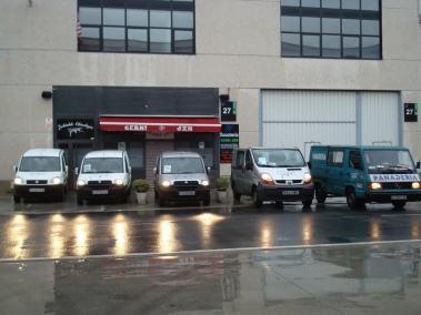furgonetas y tienda