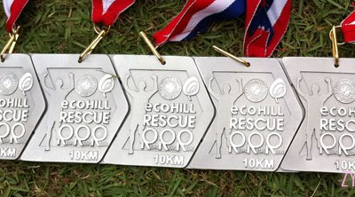 Well, this is cool... our medals can be strung together continuously