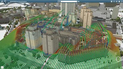 3DEXPERIENCity, Wind Simulation for Singapore City, Singapore