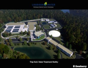 Trap Rock Water Treatment Facility. Image courtesy of Dewberry & Loudoun Water