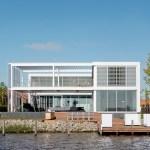 Steel Study House facade