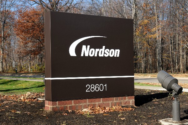 Nordson Street Sign