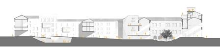 Section plan by KKAA Kengo Kuma Associates