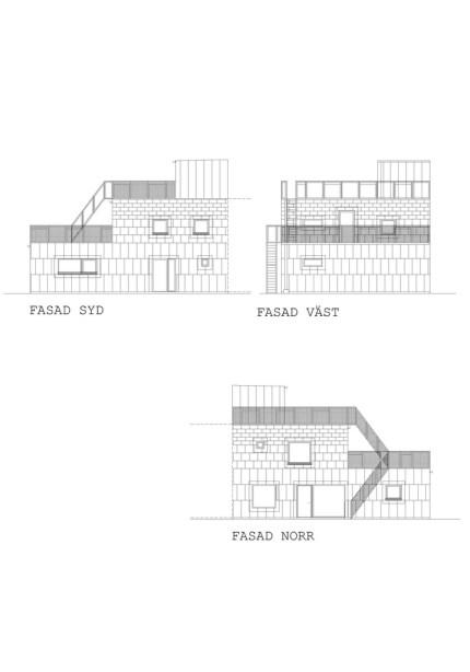 Black House Facade