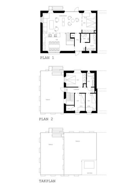 Black House Plan