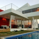 Front View of House EP in Nova Lima