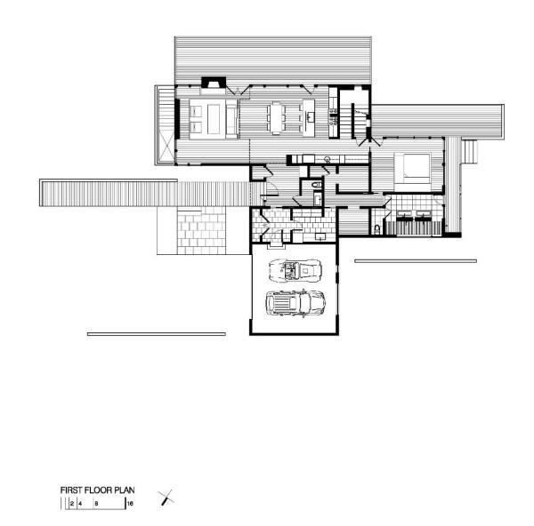 Harkavy Residence Ist Floor Plan