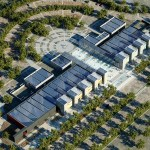 The entire rooftop is covered with efficient solar array