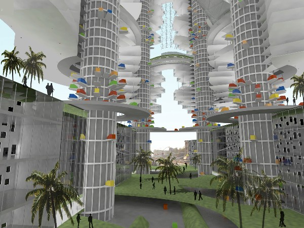 Tata Tower Ground Level