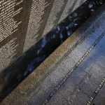 Vietnam Veterans Memorial Detail - Photo by Kate Joyce Hedrich Blessing