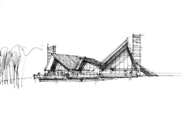 Sketch (Drawings and Renders by HENNING LARSEN ARCHITECTS)