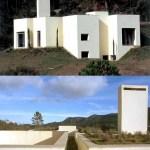 1994-2002. House in Serra da Arrábida, Portugal. Various interior and exterior views by Luis Ferreira Alves.