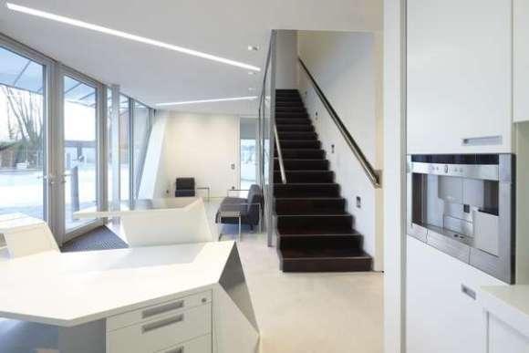 Villa Libeskind prototype interior - entry hall 2 - (c) Frank Marburger