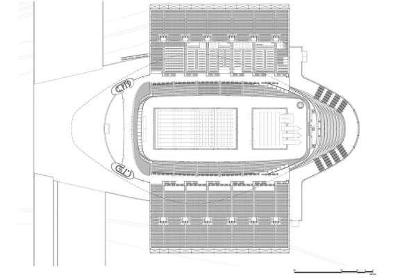 Second Floor Plan (Olympic Mode)