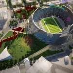 Stadium - Aerial View