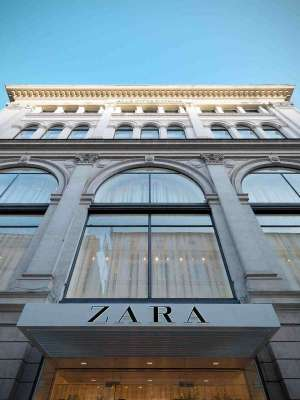 Front View of Zara