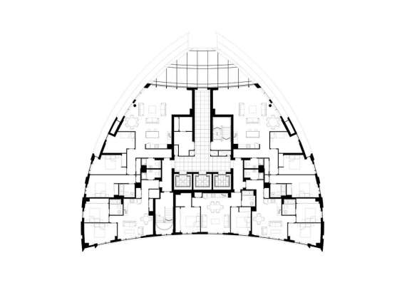 39th Floor Plan