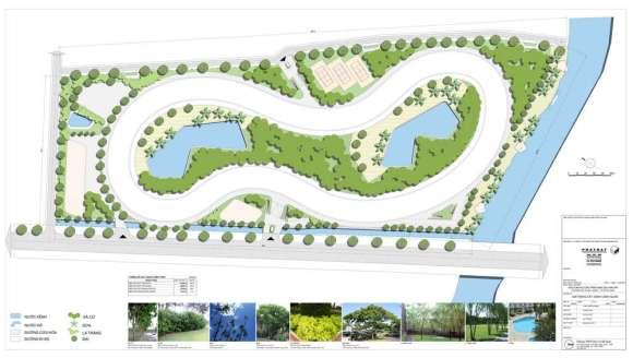 Master plan landscape