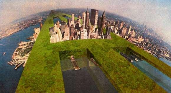 Il Monumento Continuo e Sostenibile, NewYork