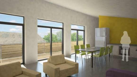 Interior Living Render