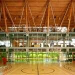 Indoor playground (Images Courtesy James Dow / Patkau Architects)