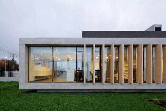 Exterior View (Image Courtesy Nicolás Saieh)